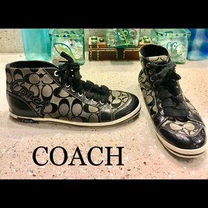 Coach high top brendi sneakers